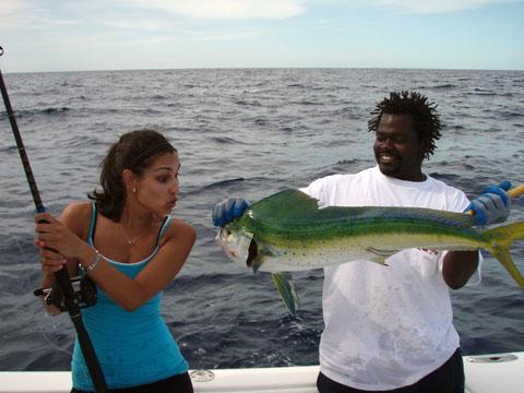 Mahi mahi fishing dorado bahamas for Deep sea fishing bahamas