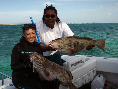 Grouper fishing bahamas for Fishing nassau bahamas